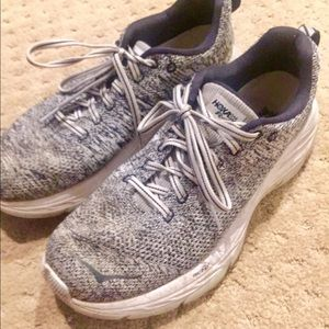 Hoka One One Mach Gray Running Shoes 9.5